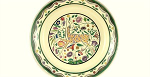 Poole Pottery Deer Plate promo