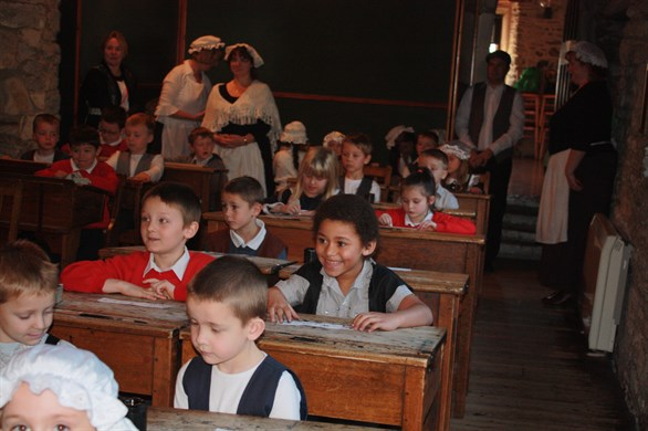 Victorian School at Scaplen's Court